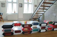 Kolorowe pudełka