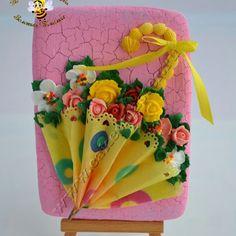 зонтик с цветами