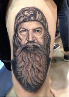 True Phil Robertson fan, not something I would do, but who ever did this is a good artist