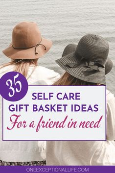 When our friends are overcoming obstacles in their lives, they need support. This self care great gift basket idea list has tons of ideas to create a self care kit that will make any woman smile. Including some awesome subscription box ideas, it has everything you need to win friend of the year. #basketideasforwomen #showingkindness # christianwomen #findinghappiness #overcomingchallenges #oneexceptionallife