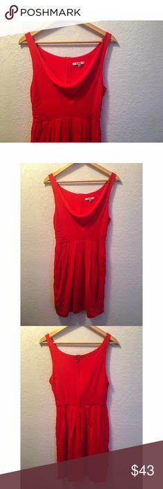 BB Dakota Dress Beautiful cherry red dress. Size 6. Best for a Medium. 100% Rayon. No stains or holes. Back zipper. BB Dakota Dresses Mini