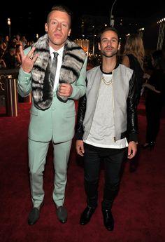 VMA 2013 Red Carpet: Ryan Lewis and Macklemore