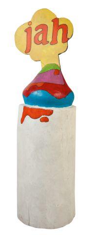 Lamr Aleš (*1943) | Jah?/?Yah, 1974 | Aukce obrazů, starožitností | Aukční dům Sýpka Drink Sleeves, Auction, House, Home, Haus, Houses
