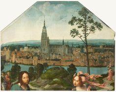 Oudste stadsgezicht van Nederland gevonden - Breda rond 1518