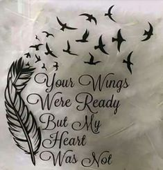 Love the words. I'd make it a beautiful tree with the birds though...