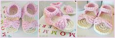 Free Sandal Pattern---These are adorable. They take a while (double sole, attaching front strap, etc.) But absolutely precious end product!