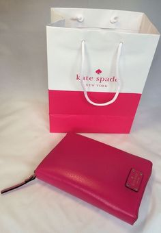 Kate Spade Wellesley Sweetheart Pink 16-17 Day  Planner NWT Free Shipping…