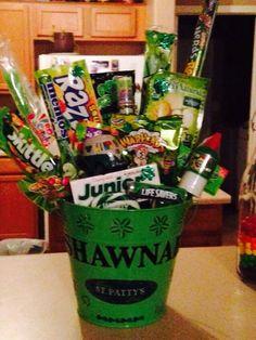 St Patricks day gift basket shawnah