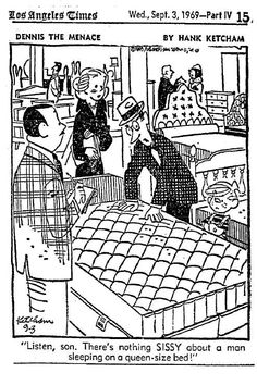 It's Ok, Guys–You Can Sleep in a Queen-Size Bed. A short tidbit demonstrating a boys reluctance to associate himself with anything feminine, a result of gender binary. Social Science Project, Gender Binary, University Of Minnesota, Pinterest Projects, Teaching History, Old Ads, Queen Size Bedding, Vintage Ads, Feminine