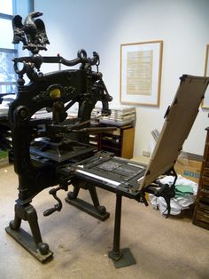 Columbian - another view of these old great presses.
