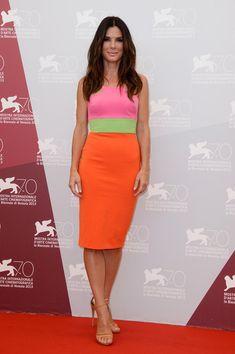 Alex Perry at the 2013 Venice International Film Festival - Style Crush: Sandra Bullock - Photos