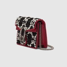 Shop the Black Leather Ophidia Mini Bag at GUCCI.COM. Enjoy Free Shipping and Complimentary Gift Wrapping. Saint Laurent Handbags, Gucci Store, Tweed Fabric, Wallet Chain, Mini Bag, Bucket Bag, 3 D, Zip Around Wallet, Crossbody Bag