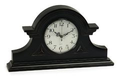 Special Offers - Imax Black Mantel Clock - In stock & Free Shipping. You can save more money! Check It (March 25 2016 at 10:39AM) >> http://wallclockusa.net/imax-black-mantel-clock/