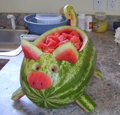 Pig out on some delicious watermelon!