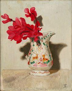 Nicholson, William (1872-1949) - 1937c. Cyclamen