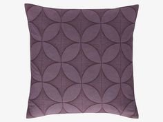 Alvey Purple Cushion - keeping the home office comfy! Purple Cushions, Uk Homes, Purple Pattern, Shop Lighting, Habitats, Comfy, Throw Pillows, Design, Purple Throw Pillows