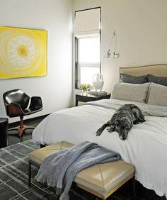 love this easy, simple bedroom.