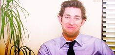 When he giggles like this. | 34 Times John Krasinski Was The Most Perfect Man Alive