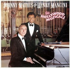 JOHNNY MATHIS AND HENRY MANCINI THE HOLLYWOOD MUSICALS