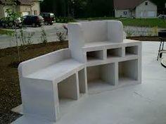 siporex am nagements ext rieurs cr er une terrasse fabriquer un barbecue outdoor deco. Black Bedroom Furniture Sets. Home Design Ideas