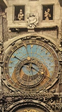 Prague - Orloj The Astronomical Clock. I Prague it's so beautiful! Prague Czech, Antique Clocks, Architectural Features, Most Beautiful Cities, Central Europe, Travel Bugs, Czech Republic, Travel Around The World, Places Ive Been
