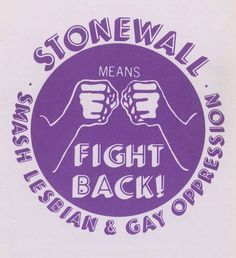 28 June 1969 - The Stonewall Rebellion begins as queer street youth fight back against police in New York's Greenwich Village