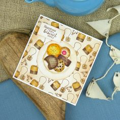 Happiness is but a biscuit away. From the Biscuits Galore! and Sweetest Tea Party sets.