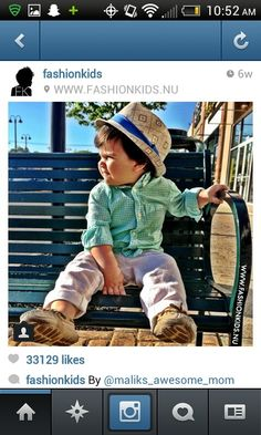 Baby boy fashion