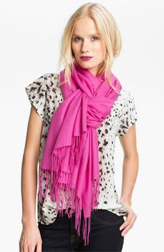 Nordstrom Tissue Weight Wool & Cashmere Wrap available at #Nordstrom