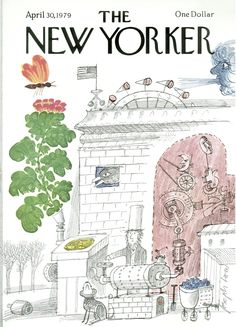 The New Yorker - Monday, April 30, 1979 - Issue # 2828 - Vol. 55 - N° 11 - Cover by : Joseph Low