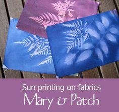 Maryandpatch, Sun printing on fabrics, tutorial