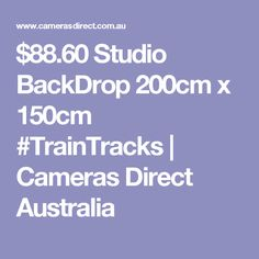 Studio backdrop Tall by wide. Capture that exotic look in your portrait shots from right in the studio Material: Pictorial cloth, seamless, computer-printed for realism Studio Backdrops, Australia, Studio Lighting, Portrait Shots, Train Tracks, Cameras, Prints, Camera, Film Camera