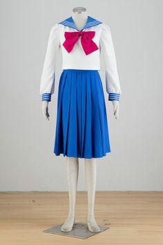 Anime Sailor Moon Crystal Cosplay Costumes Tsukino Usagi Women Fancy School Uniform for Halloween Party Customized Sailor Moon Costume, Sailor Moon Outfit, Sailor Moon Usagi, Sailor Moon Cosplay, Anime Costumes, Cool Costumes, Costumes For Women, Cosplay Costumes, Costume Ideas