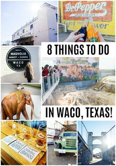 The perfect day trip to Waco! The best things to do in Waco, Texas - Magnolia Market, Mammoth Monument, Dr. Pepper Museum, Whiskey Tasting, and so much more! - Wander Dust Blog