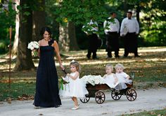 babies in wedding ceremonies- in case. Which I pray I have a little one by then.