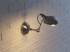 TOMMY SILVER Metal Silver metal wall light - HabitatUK