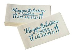 Letterpress Business Cards by Four Hats Press.I LOVE letterpress! Business Cards Layout, Letterpress Business Cards, Types Of Lettering, Hand Lettering, Branding, Calling Cards, Print Packaging, Graphic Design Typography, Identity Design