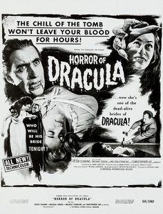 Best Vampire Movies, Vampire Film, Hammer Horror Films, Hammer Films, Hammer Movie, Dead Alive, Classic Horror Movies, Tumblr, Vintage Horror