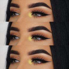 Pin by Marlen Lopez Salazar on Eyeshadow Makeup Goals, Makeup Inspo, Makeup Inspiration, Makeup Tips, Beauty Makeup, Makeup Trends, Makeup Eye Looks, Eye Makeup, Anastasia Beverly