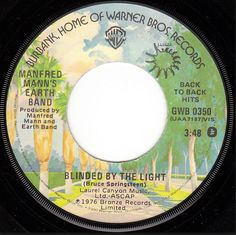 """Manfred manns earth band """"blinded by the light"""""""