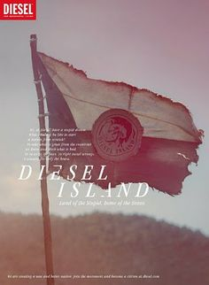 Ad Campaign Review: Diesel Island. Spring Summer 2011