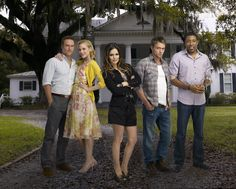 "Hart of Dixie S1 Cast: Rachel Bilson ""Zoe,"" Scott Porter ""George,"" Jaime King ""Lemon,"" Wilson Bethel ""Wade,"" Cress Williams ""Lavon"""