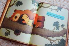 """Rozkładówka z książki """"Dzieci to koszmarne zwierzątka domowe""""."""