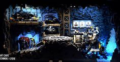 This is my big MOC Lego project - BATCAVE , please view #l… | Flickr