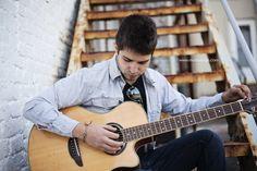 Cristiaan – 2013 Senior » Marissa Noe Photography senior guy photography ideas, senior with guitar