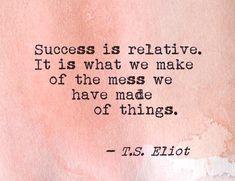 T. S. Eliot via make amends (Tumblr)