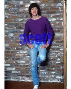 SCOTT BAIO #246,AT HOME CANDID PHOTO,closeup,HAPPY DAYS,charles in charge