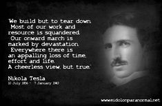 Quotes From Nikola Tesla | Nikola Tesla