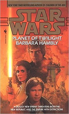 Star Wars Planet of Twilight by Barbara Hambly Hard Cover 1997 Star Wars Novels, Star Wars Books, Star Wars Art, Star Trek, Twilight Stars, Twilight Book, Star Wars Planets, Star Wars Comics, Star Wars Collection