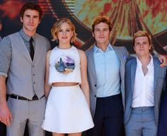 THEY'RE ALL SO BEAUTIFUL <3 --KittyJustine The Hunger Games * Jogos Vorazes